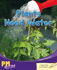 PM Writing 3: Plants Need Water (PM Gold/Silver) Levels 22, 23 x 6
