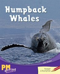 PM Writing 4: Humpback Whales (PM Ruby) Level 27 x 6