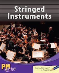 PM Writing 4: Stringed Instruments (PM Sapphire) Level 29 x 6
