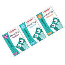 Scholastic English Skills: Handwriting Workbooks Reception-Year 6 Pack (3 Books)