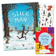 Stick Man with FREE Mini Stick Man Activity and Puzzle Book
