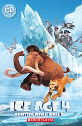 Ice Age 4: Continental Drift (Book & CD)