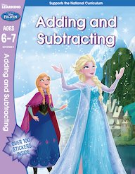 Frozen - Adding and Subtracting (Ages 6-7)