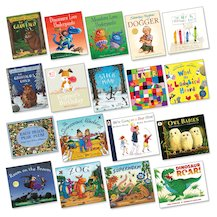 Top 100 Children's Books for Teachers Nursery-Reception Pack x 18