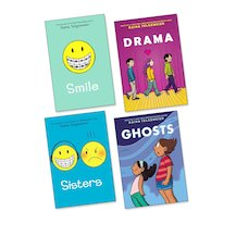 Raina Telgemeier Graphic Pack x 4