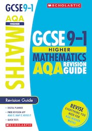 GCSE Grades 9-1: Higher Maths AQA Revision Guide x 30