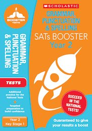 National Curriculum SATs Booster Programme: Grammar, Punctuation and Spelling Test (Year 2) x 10