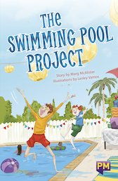 PM Emerald: The Swimming Pool Project (PM Guided Reading Fiction) Level 25 (6 books)