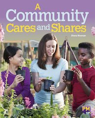 PM Emerald: A Community Cares and Shares (PM Guided Reading Non-fiction) Level 25 (6 books)
