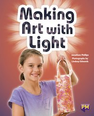 PM Emerald: Making Art With Light (PM Guided Reading Non-fiction) Level 25 (6 books)