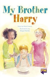 PM Emerald: My Brother Harry (PM Guided Reading Fiction) Level 26 (6 books)