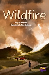 PM Ruby: Wildfire (PM Guided Reading Fiction) Level 28 (6 books)