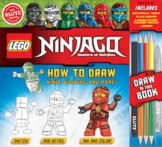 LEGO® Ninjago®: How to Draw Ninja, Villains and More!