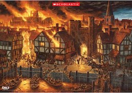 Great Fire of London - downloadable poster