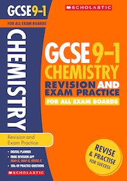 GCSE Grades 9-1: Chemistry Revision and Exam Practice Book for All Boards x 30