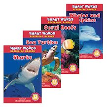 Smart Words Beginning Readers: Ocean Animals Pack x 5
