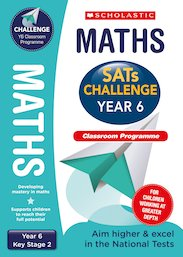 SATs Challenge: Maths Classroom Programme Pack (Year 6)