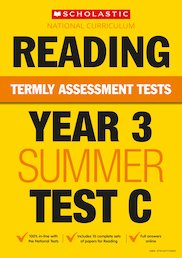 Year 3 Reading Test C x 10