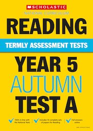 Termly Assessment Tests: Year 5 Reading Tests A, B and C x 90