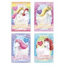 The Unicorns of Blossom Wood Pack x 4