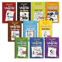 Diary of a Wimpy Kid Pack x 10