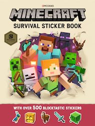 Minecraft: Survival Sticker Book