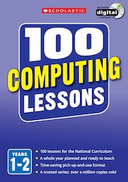 100 Computing Lessons Years 1-6 Pack x 3