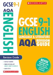 GCSE 9-1: English Language and Literature AQA Revision Guide x 10