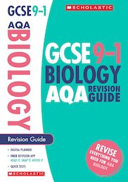GCSE Grades 9-1: Biology AQA Revision Guide x 10