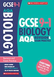 GCSE Grades 9-1: Biology AQA Revision and Exam Practice Book x 10