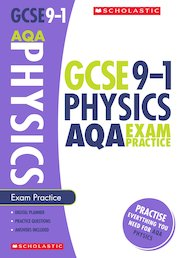 GCSE Grades 9-1: Physics AQA Exam Practice Book x 10
