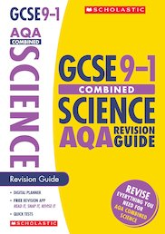 GCSE Grades 9-1: Combined Science AQA Revision Guide x 10