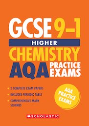 GCSE Grades 9-1: Higher Chemistry AQA Practice Exams (2 papers) x 30