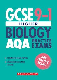 GCSE Grades 9-1: Higher Biology AQA Practice Exams (2 papers) x 10