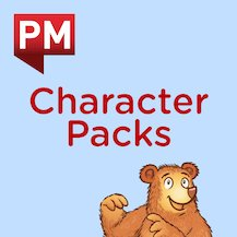 PM Character Packs: Kitty Cat Character Pack Levels 3–8 (6 books)