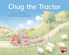 PM Blue: Chug the Tractor (PM Storybooks) Level 10