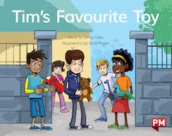 PM Blue: Tim's Favourite Toy (PM Storybooks) Level 10 x 6