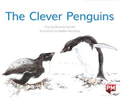 PM Green: The Clever Penguins (PM Storybooks) Level 12 x 6