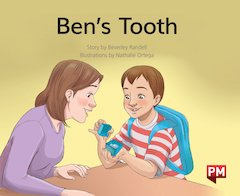 PM Green: Ben's Tooth (PM Storybooks) Level 13 x 6