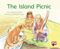 PM Green: The Island Picnic (PM Storybooks) Level 14 x 6