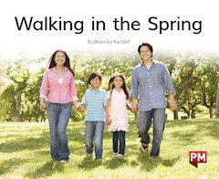 PM Green: Walking in the Spring (PM Non-fiction) Levels 14, 15 x 6