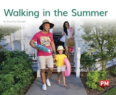 PM Green: Walking in the Summer (PM Non-fiction) Levels 14, 15 x 6