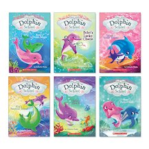 Dolphin School Pack x 6
