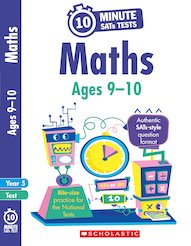 10-Minute SATs Tests: Maths - Year 5 x 30