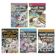 Black Lagoon Adventures Pack x 5