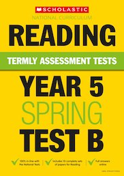 Termly Assessment Tests: Year 5 Reading Test B x 30
