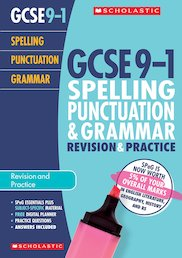 Spelling, Punctuation and Grammar Revision and Exam Practice Book for All Boards