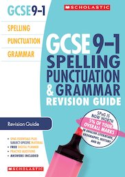 Spelling, Punctuation and Grammar Revision Guide for All Boards