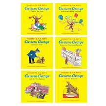 Curious George Pack x 6