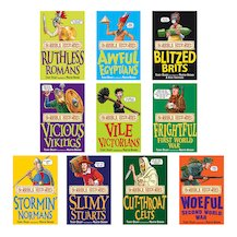 Horrible Histories Pack x 10 (Classic Editions)
